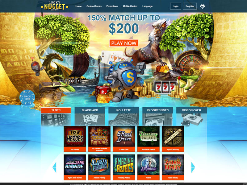 Lucky Nugget Mobile Casino Download